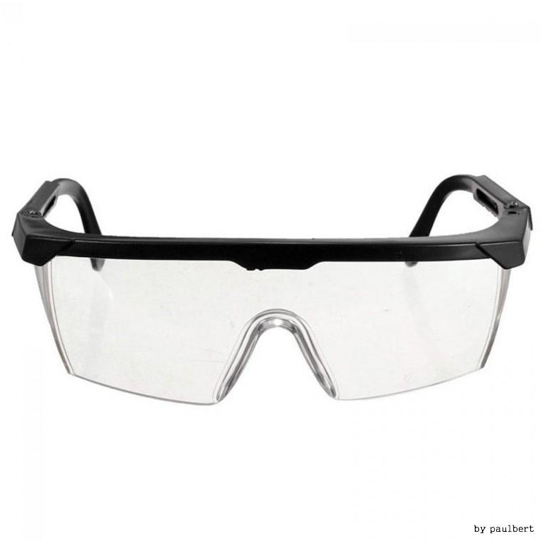 보안경(투명) 안전안경/보호안경/보호용 고글 블랙