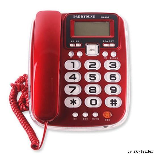 네온램프 전화기 DM-990