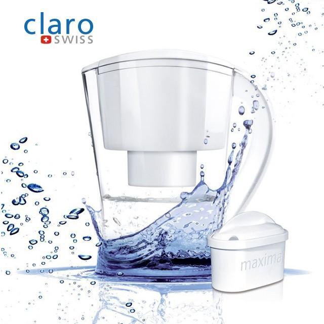 클라로스위스 정수기+필터1개포함/휴대용정수기