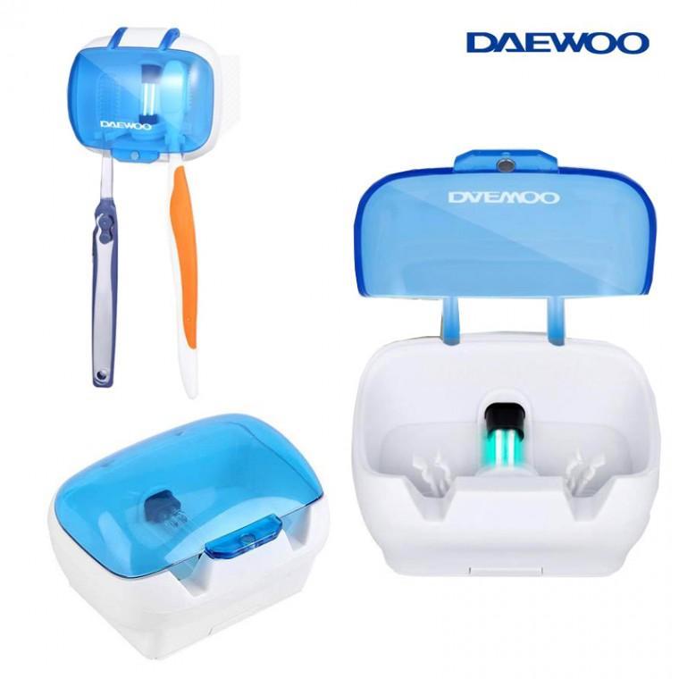 DAEWOO 칫솔살균기/칫솔2개걸이/UV램프/건전지형/200