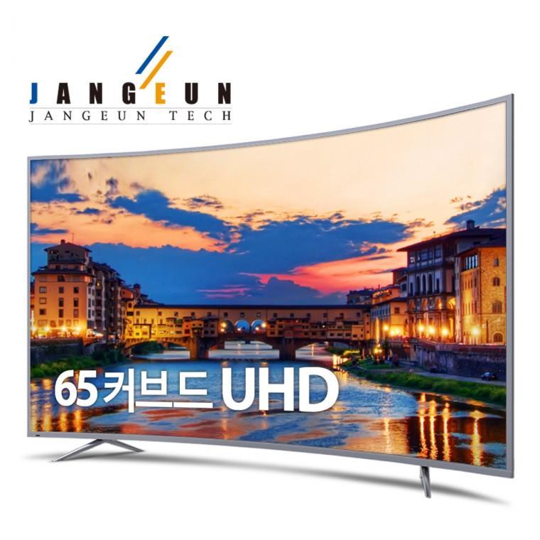 장은테크  65인치 커브드 TV CA650UD-C