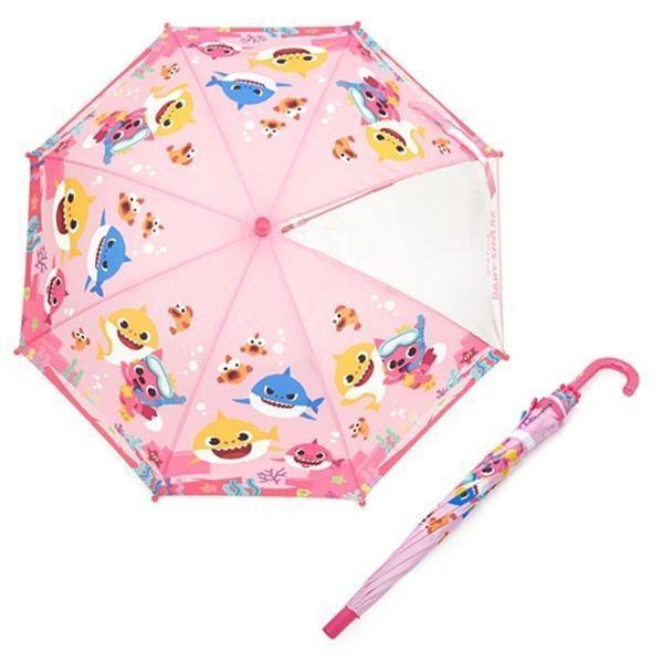 핑크퐁 47 상어가족 우산(핑크)